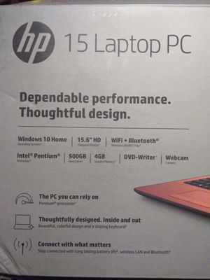 Hp 15 laptop PC for Sale in Orlando, FL