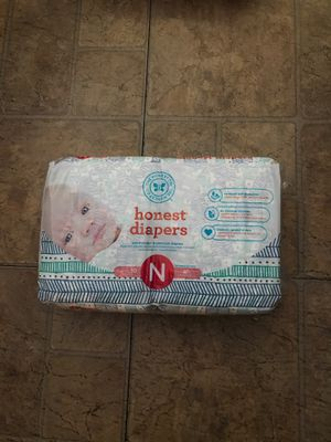 Honest diapers newborn for Sale in Bellflower, CA