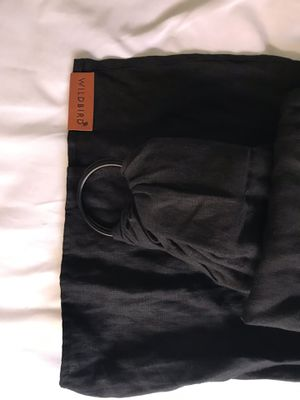 Black wild bird ring sling for baby for Sale in Hayward, CA