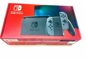 Brand New Nintendo Switch Gray Console for Sale in Amarillo, TX