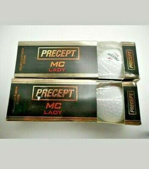 Bridgestone Precept MC Lady Golf Ball Brand new 2 pack 6 balls total Golf Fun. Great stocking stuffers or 3 for 18.00 for Sale in Plainfield, IL