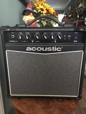 Acoustic G10 practice amplifier for Sale in San Bernardino, CA