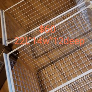 Wire Baskets/Drawers,for Cabinets for Sale in Houston, TX