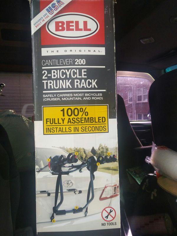 Bell bike rack hold 2 bikes