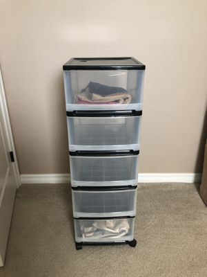 5 Drawer Plastic Chest for Sale in Chandler, AZ