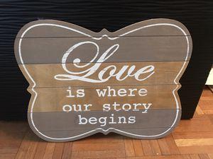 Love sign for Sale in Richmond, VA