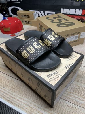 GUCCI SLIDES SIZE 11 US for Sale in Los Alamitos, CA