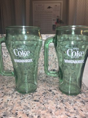 Collectible whataburger glasses for Sale in Houston, TX