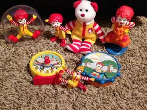 Collection ( small) of Ronald McDonald Toys for Sale in Hamilton, OH
