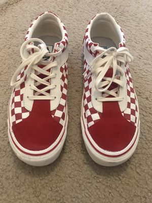 Red Vans size 12 for Sale in HUNTINGTN BCH, CA