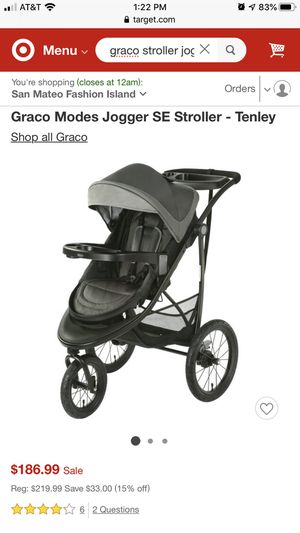 Stroller/jogger for Sale in San Mateo, CA