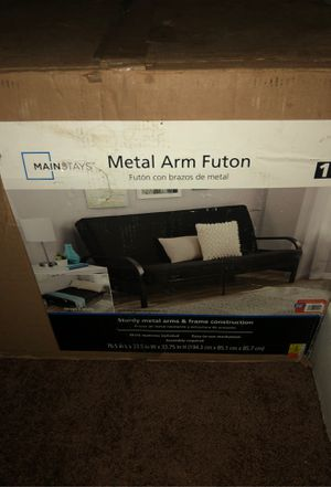 METAL ARM FUTON ( PICK UP ONLY ) I can NOT deliver . for Sale in Peoria, IL