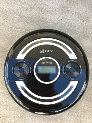 gpx personal portable compact disct CD Player for Sale in Leonardo, NJ