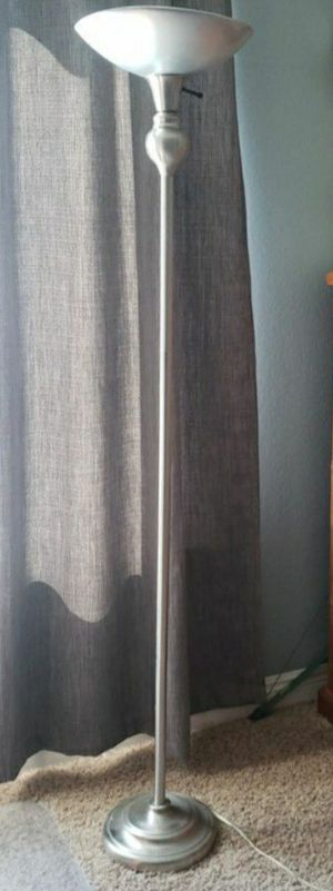 Floor lamp, torchiere for Sale in Victorville, CA