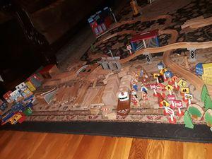 Complete Wooden Train Set & Trains - Assorted Pieces for Sale in FSTRVL TRVOSE, PA