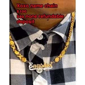 Name chain for Sale in Hartford, CT