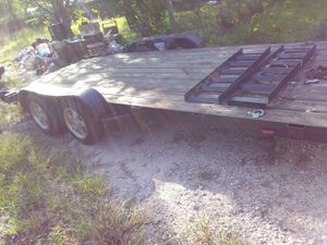 18 ft car hauler for Sale in Roman Forest, TX