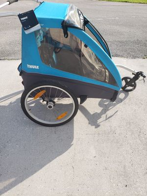 Thule Kids Coaster XT Bike Trailer in Blue for Sale in Lighthouse Point, FL