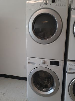 Kenmore front load washer and electric dryer mix and match set used in good condition with 90 day's warranty for Sale in Mount Rainier, MD