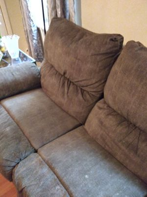 Reclining couch & rocker recliners loveseat for Sale in Northumberland, PA