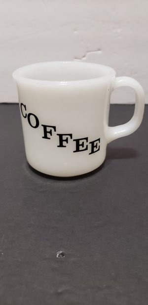 Milk glass anchor hocking coffee mug for Sale in Plainfield, IL