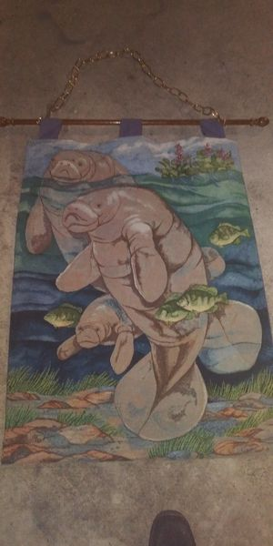 BEAUTIFUL WALL HANGING HOME DECOR I PAID ALOT THIS 10DOL FIRM LOTS DEALS MY POST GO LOOK for Sale in Jupiter, FL