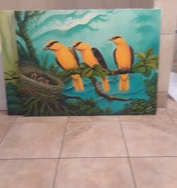 Hand Painted Canvas Wall Art for Sale in Sterling,  VA