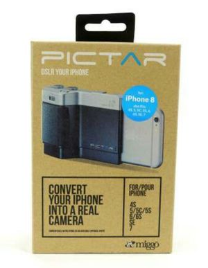 PICTAR Camera Grip for iPhone 8 7 SE 6S 6 5S 5C 5 4 - DSLR your iPhone for Sale in Bellevue, WA
