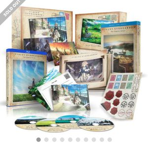 Violet Evergarden Special Edition Funimation for Sale in Salt Lake City, UT