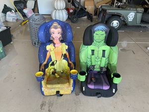 Booster seats, single or together for Sale in Gilbert, AZ