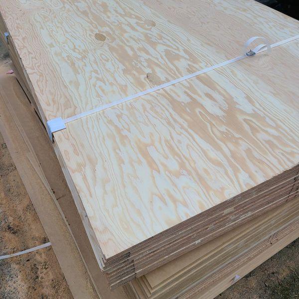 "10x New 3/4"" Plywood. Sanded, Marine Grade"