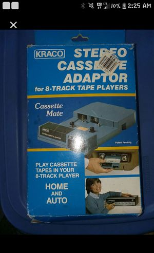 Adaptor for a atrack to cassette for Sale in Broxton, GA