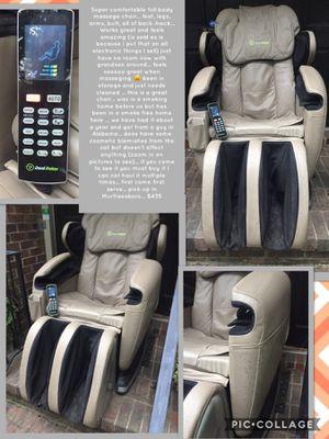 Super comfortable full body massage chair... feet, legs, arms, butt, all of back /neck... Works great and feels amazing (is sold as is because i put for Sale in Murfreesboro, TN