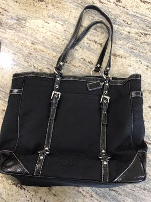 Coach Black Tote for Sale in Venice, FL