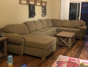 LARGE Three Piece Sectional for Sale in Holly Ridge, NC