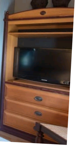 Beautiful 3 pcs set TV swivel center drawers 2 night stands for Sale in Tampa, FL