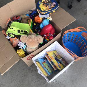 Free Toys/Books/Stuff Animals for Sale in Elgin, IL