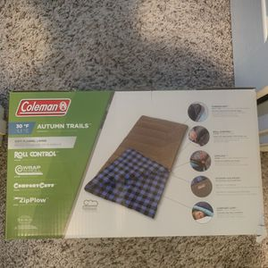 Coleman autumn trails sleeping bag for Sale in Rancho Cucamonga, CA