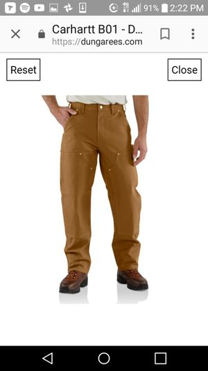 MENS CARHART PANTS for Sale in Portland, OR