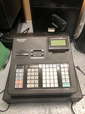 Sharp xe a43s electronic cash register and cash drawer for Sale in Avon, IN