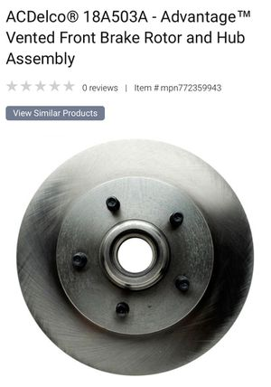 Chevy GMC brake rotor for Sale in Hudson, FL