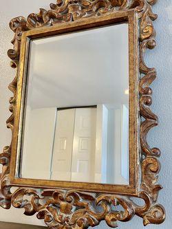 Antique Vintage Gold Mirror for Sale in Franklin,  WI