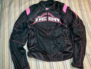 Icon motorcycle jacket $150 for Sale in Roseville, MI
