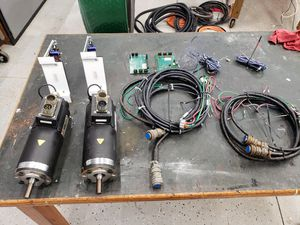 Bridgeport mill motor axis drive system for Sale in Pauline, SC