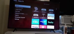 "TCL roku 55 "" smart tv for Sale in Warren Park, IN"