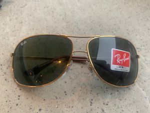 Ray Ban Sunglasses Brand New Gold Frames for Sale in Anaheim, CA