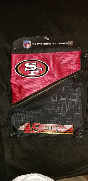 San Francisco 49ers NFL Drawstring Backpack for Sale in Mesa, AZ