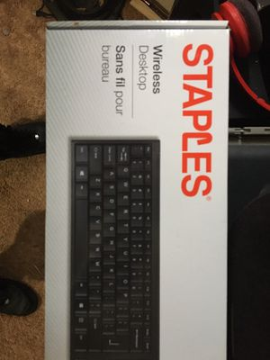 Wireless keyboard and mouse combo brand new unopened box for Sale in Olathe, KS