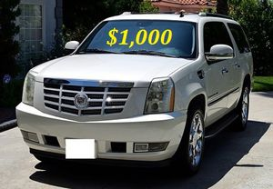 $1.OOO I'm selling urgently 2OO8 Cadillac Escalade SUV V8. for Sale in Tampa, FL