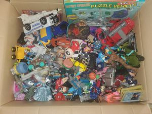 Box Lot of Toys! Pokemon, Hot Wheels, Disney, Marvel for Sale in Anaheim, CA